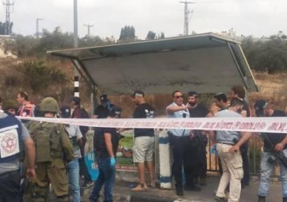 محدث .. بالصور: استشهاد منفذ عملية الطعن قرب مستوطنة اريئيل بنابلس