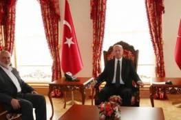"""اردوغان لـ""""هنية"""": المساعدات الطبية ستصل إلى قطاع غزة والضفة الأسبوع القادم"""