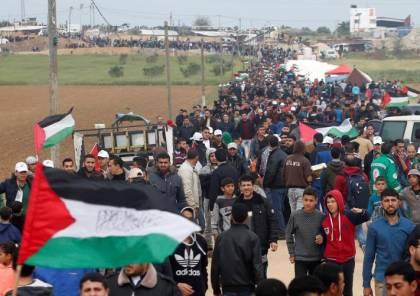 55 اصابة شرق قطاع غزة
