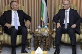 رئيس الحكومة الفلسطينية يرفض استقبال المبعوث الاممي ملادينوف