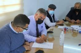 التعليم تبدأ بإعادة بناء مدرسة أحمد عبد العزيز في خانيونس