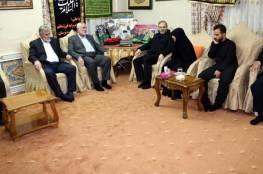 النخالة من طهران: المقاومة الفلسطينية لن تتراجع وغزة كانت تنتعش بحضور سليماني