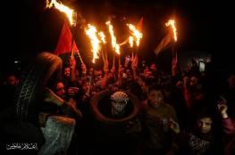 صور... اصابات خلال قمع الاحتلال لفعاليات الارباك الليلي شرق خانيونس