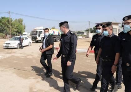 الشرطة تنتهي من تهيئة دوار حمودة شمال قطاع غزة