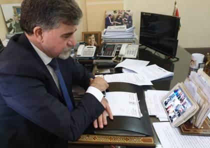باسم الرئيس: السفير عبد الهادي يهنئ البطريرك جوزيف عبسي بعيد الفصح المجيد