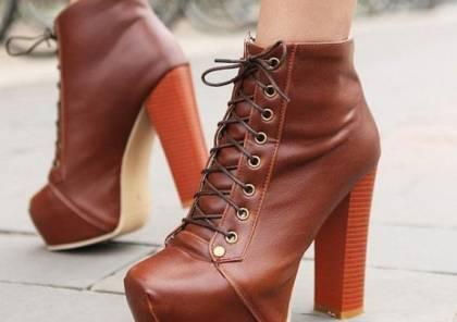 هذه هى موضة ألوان الأحذية هذا الشتاء