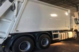 الاحتلال يستولي على مركبة لجمع النفايات في بديا غرب سلفيت