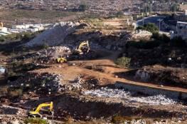 """""""أريج"""": تدمير إسرائيلي ممنهج للبيئة الفلسطينية ووضع كارثي يزداد سوءاً"""