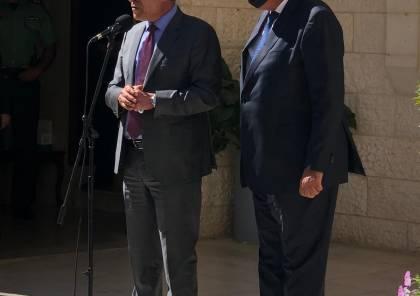 الشيخ وشكري يؤكدان ضرورة ايجاد الأفق السياسي الملائم للتوصل لإقامة الدولة الفلسطينية