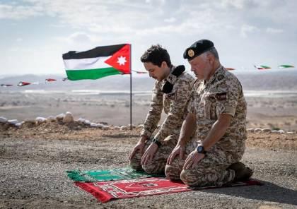 صور .. الملك يزور الغمر بعد نحو أسبوع على استعادتها من إسرائيل