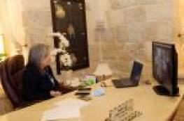 معايعة تلتقي مديرة اليونسكو الجديدة في فلسطين