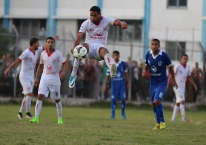 لاعب النشامى أول صفقات غزة الرياضي الصيفية