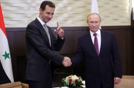 الكرملين: بوتين يصل إلى دمشق ويلتقي الأسد