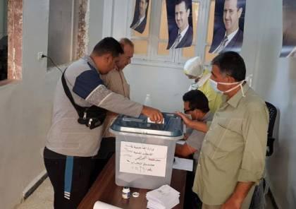 فوز قائمة الوحدة الوطنية بانتخابات مجلس الشعب السوري بنسبة تجاوز 75 بالمئة