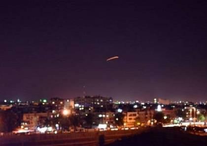 """""""سانا"""": الدفاعات الجوية تتصدى لعدوان إسرائيلي في سماء ريف دمشق..وادرعي يتوعد..!"""