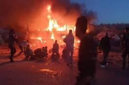 """سانا: 25 قتيلا في """"هجوم إرهابي"""" على حافلة في دير الزور بسوريا"""