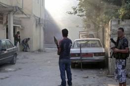 """اشتبكات عنيفة بين """"جند الشام"""" و""""فتح"""" في مخيم عين الحلوة"""