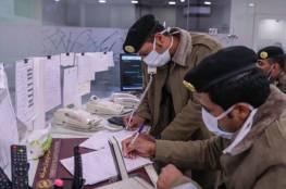 ضبط مصاب بكورونا في السعودية يبصق على عربات تسوق