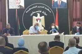 وزيرة الصحة تعلن تفوح قضاء الخليل بلدة منكوبة