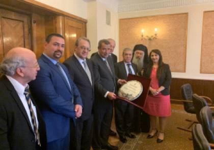 بغدانوف: روسيا لن تشارك في أية مؤتمرات أو إجتماعات لا تشارك فيها منظمة التحرير