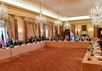 لأول مرة: اسرائيل تجتمع حول طاولة واحدة مع ست دول عربية في الامارات