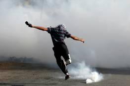 """إصابة شاب برصاص """"التوتو"""" في النبي صالح ومواجهات في المغير"""