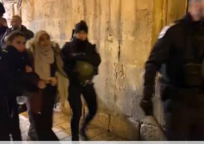"""الاحتلال يعتقل 3 مقدسيين بينهم فتاة من """"باب حطة"""""""