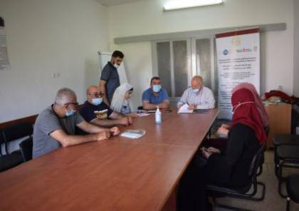 الإغاثة الزراعية تقدم منحاً لجمعيتي فروش بيت دجن وقراوة بني حسان التعاونيتين