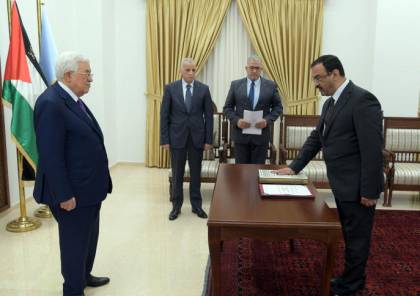 أحمد براك يؤدي اليمين القانونية رئيسًا لهيئة مكافحة الفساد