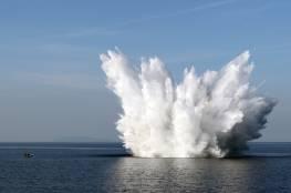 انفجار أكبر قنبلة من مخلفات الحرب العالمية الثانية في بولندا أثناء إبطالها (فيديو)