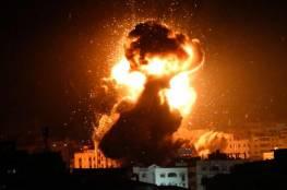 طائرات الاحتلال تستهدف موقع للمقاومة شمال قطاع غزة بعدة صواريخ