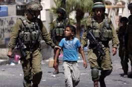 الاحتلال يعتقل طفلين من أمام باب العامود بالقدس