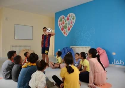 """بنك فلسطين يفتتح """"مشروع مساحة صديقة للأطفال"""" في قرية SOS ببيت لحم"""
