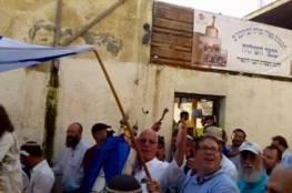مسيرة استفزازية للمستوطنين في حي بطن الهوى بسلوان