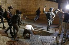 المواجهات مع الاحتلال في القدس: 17 مصابا و22 معتقلا على الأقلّ