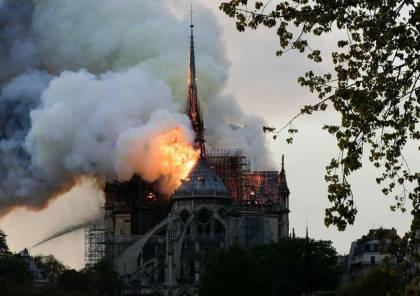 الرئاسة تعرب عن أسفها الشديد للحريق الذي اندلع في كاتدرائية نوتردام التاريخية بباريس