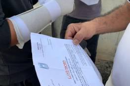 الاحتلال يخطط لتهجير 300 نفر وهدم 25 منزلا في قلنسوة بأراضي عام 48