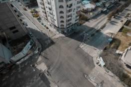 """بلدية غزة تُنهي صيانة مفترق """"ضبيط"""""""