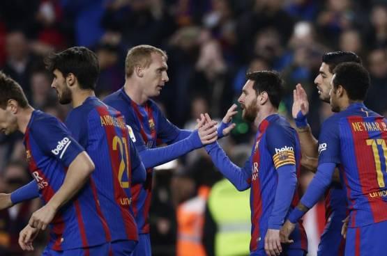 بالفيديو .. ميسي يداوي جراح برشلونة بفوز صعب على ليجانيس