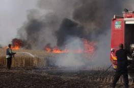 اعلام اسرائيلي: اندلاع 17 حريقًا في مستوطنات غلاف غزة هذا اليوم