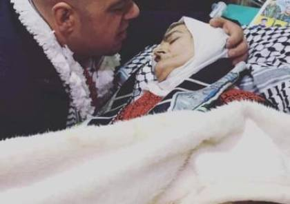 وفاة والدة الاسير المحرر الخطيب بعد يوم من الافراج عنه