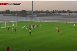 ملخص أهداف مباراة الأردن وطاجيكستان الودية