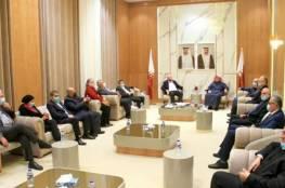 تفاصيل لقاء العمادي مع عدد من الشخصيات الاعتبارية والدولية والحكومية في غزة