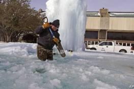 تكساس: الجالية الفلسطينية تؤكد سلامة أبنائها بعد انجلاء العاصفة الثلجية القاسية