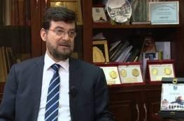 السفير لؤي عيسى يقدم نسخة من أوراق اعتماده لوزير خارجية طاجيكستان