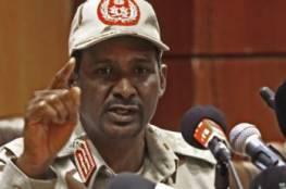 واللا العبري: غضب في السودان من زيارات الموساد لحميدتي