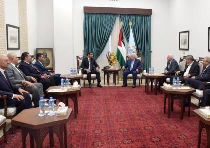 تلفزيون اسرائيلي يزعم: الرئيس حمل الوفد المصري رسالة لحماس تتعلق بالمصالحة!