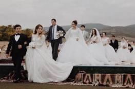 """حفل زفاف يدخل موسوعة """"غينيس"""" للأرقام القياسية"""