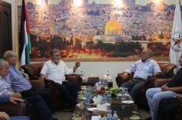 النخالة يلتقي وفدًا من الجبهة الشعبية في بيروت