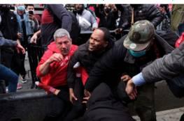 """القبض على 11 شخصا إثر مواجهات بين حركة """"يهود من أجل ترامب"""" ومعارضين له"""